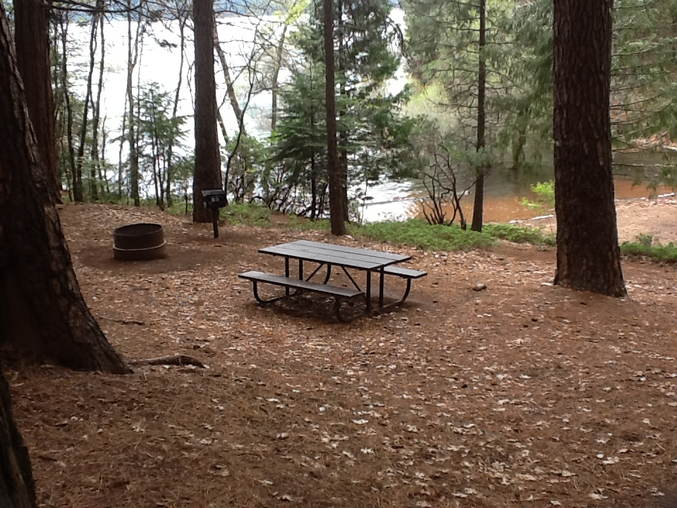 Sierra Spur site #65 - 1 vehicle, tent only, walk-in site - shade, gentle slope