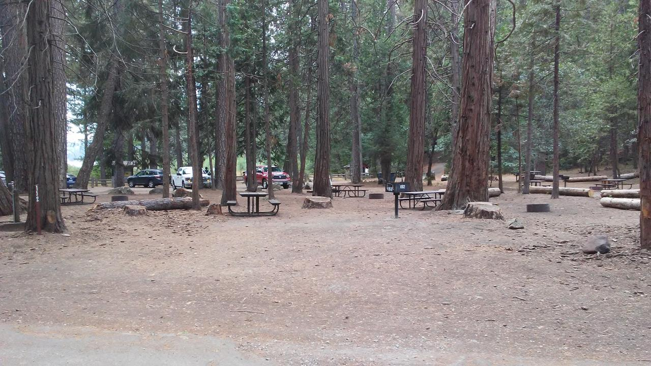 Hazel Creek site #152 - 2 vehicles or 24' trailer - shade