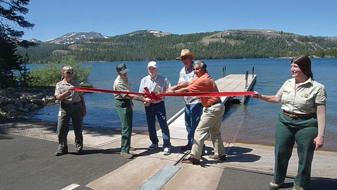 CaplesLake-BoatLaunch-RibbonCutting