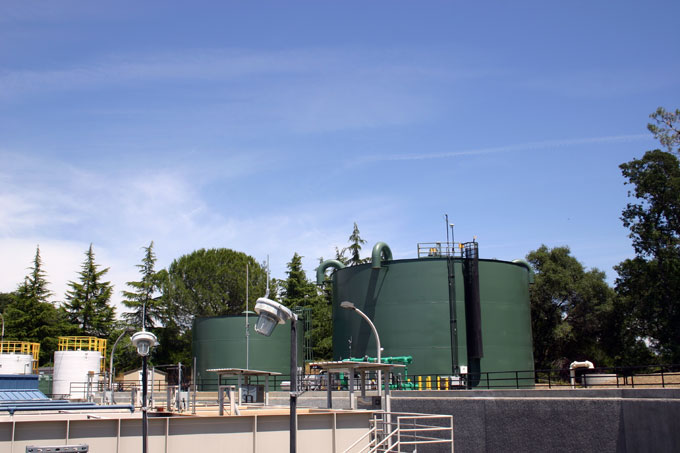 El Dorado Hills Water Treatement Plant June 2011 - Storage Tanks