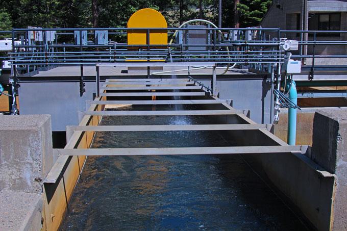 Reservoir A Water Treatment Plant - December 2016 - Water Treatment Process