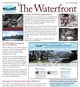 Icon front page of the July August Waterfront Newsletter