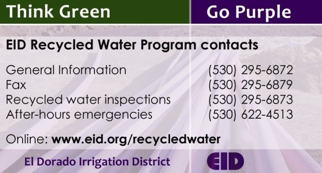 Recycled Water Biz Card