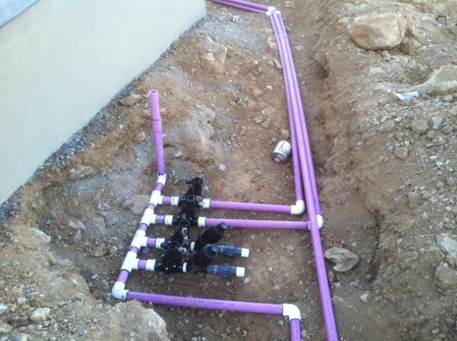 open trench inspection - How To Design An Irrigation System At Home
