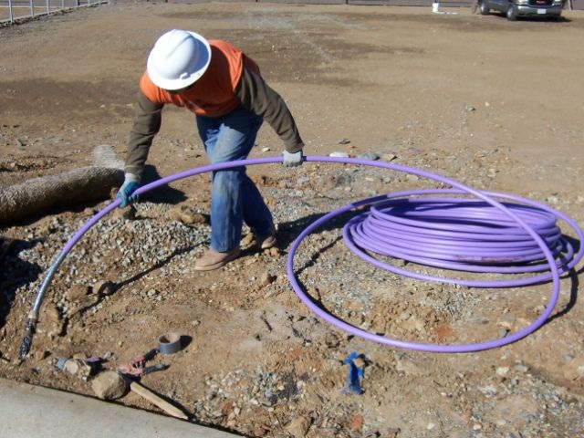 Recycled Water Pipe Installation