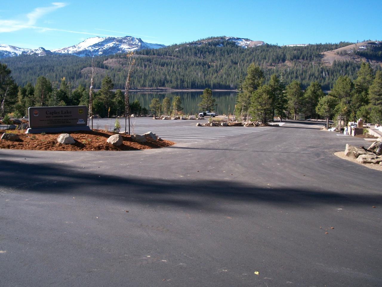 Caples Lake Boat Launch