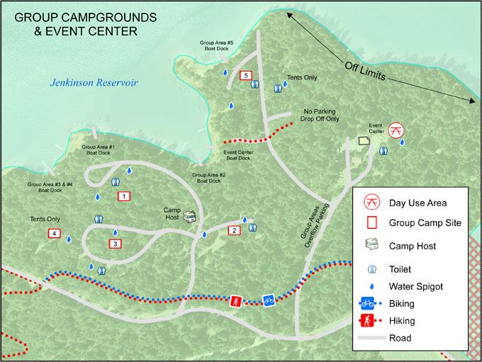 Campgrounds In California Map.Spra Park Maps El Dorado Irrigation District