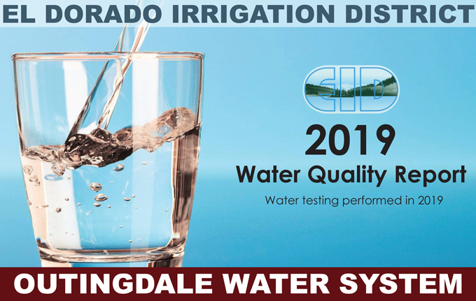 2019 Consumer Confidence Water Quality Report Outingdale Water System Available Online