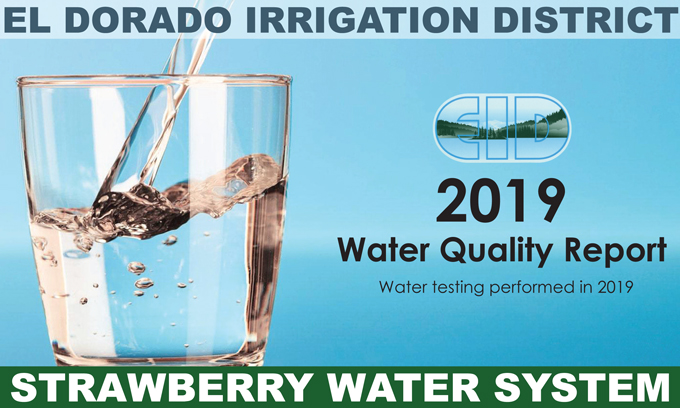 2019 Consumer Confidence Water Quality Report Strawberry Water System Available Online
