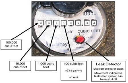 Labeled Meter
