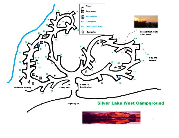 Silver Lake Map